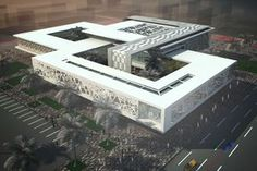 Ruward Business Incubator - SHAPE Architecture Practice + Research Architecture Design Concept, Architecture Antique, Green Architecture, School Architecture, Business Architecture, School Building Design, Hospital Design, Modern Buildings, Exterior Design