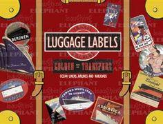 Golden Age of Transport Luggage Labels: 20 Vintage Luggage Label Stickers (Travel Stickers):Amazon:Books