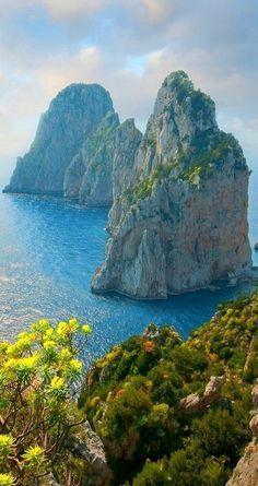 Capri, Italy #italytravelinspiration