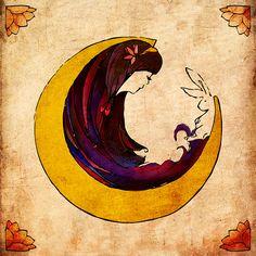 Conejo de la luna, color, zodiaco chino, kaguya