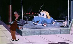 © Walt Disney Productions   The little Blue coupe' produced 1952