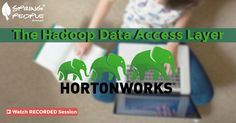 """Missed the #Webinar! Watch the free recorded session on """" The #hadoop #data access layer """" : http://www.springpeople.com/webinars/the-hadoop-data-access-layer?utm_source=Pinterest&utm_medium=Social&utm_campaign=Brand_PI_WBRec_Hadoop_270616"""
