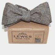 Grey Wool #Bow Tie by DinaMalkova.com
