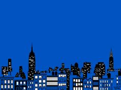 New York skyline Art Print by Vahram Muratyan