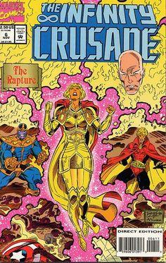Infinity Crusade # 6 by Ron Lim & Al Milgrom