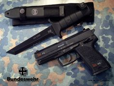 The P8 is the German Army's standard side arm. It's basically a 9mm USP.