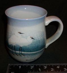 Stork, Heron, Crane Coffee Time Coffee Mug (Used/Vintage)1987 Singed must see