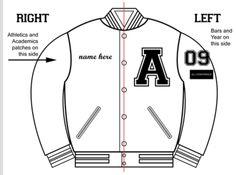 Custom Patches for Letterman Jackets | Varsity Jacket Custom