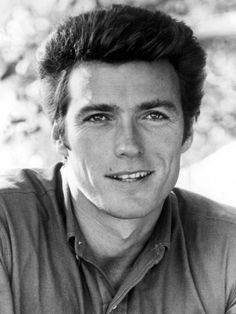 A very young Clint Eastwood, 1962 Clint Eastwood, Famous Men, Famous Faces, Famous People, Classic Hollywood, Old Hollywood, San Francisco, Fritz Lang, Actrices Hollywood