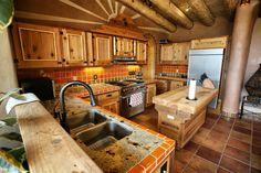 Resultado de imagem para two story house earthship