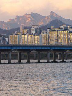 ✮ Bridge Over Han River In Seoul, South Korea