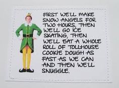 funny quotes from elf nice