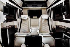 Mercedes-Benz Sprinter 2500 Crew Luxury Van Jet Van