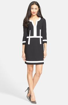 Diane von Furstenberg 'Petra' Stretch Woven Dress available at #Nordstrom