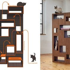 15 Best Modern Cat Tree Images In 2016 Cat Furniture Cat