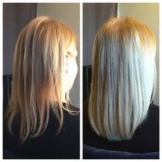 Volume Install Before and After! WESTCOASTHAIR® #hairextensions 711 W Lake St. Minneapolis, MN. www.westcoasthair.com/form