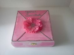 Your Invited Wedding invitation themed by TrulyUniqueBouquets, $20.00