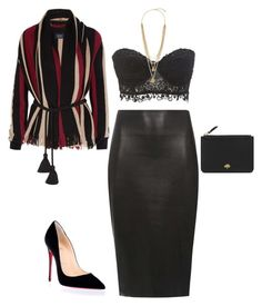 """""""Sin título #98"""" by pricsila-marquina-gonzalez on Polyvore featuring moda, Dorothy Perkins, Lanvin, Charlotte Russe, Christian Louboutin, Mulberry y Vince Camuto"""