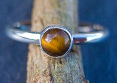 Tiger Eye and Sterling Silver