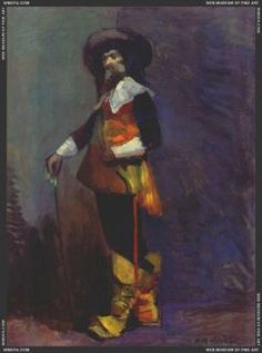 Matisse, Henri - Lucien Guitry as Cyrano de Bergerac 1903 Henri Matisse, Matisse Art, Mon Panache, Matisse Pinturas, Matisse Paintings, Fauvism, Z Arts, Post Impressionism, Musketeers