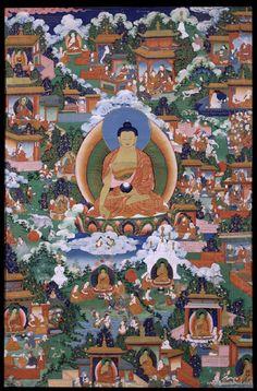 Tibetan tangka  #Buddha #Thangka