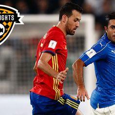 Highlights: Italy 1-1 Spain