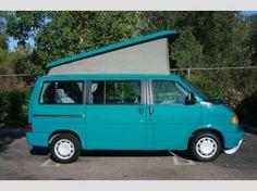 1993 Volkswagen Eurovan...weekender and in turquoise!