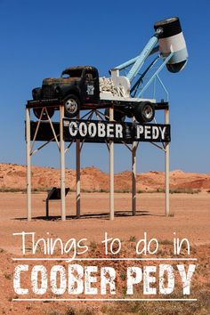 The first time I heard that people live underground in Coober Pedy I didn't know what to think of. What does it mean to live underground? Do they live in caves?