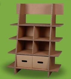Fabriquez des meubles de récup' en carton