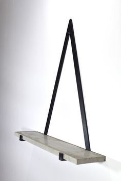 Holly's House - Concrete Triangle Shelf - This could look good with the right house