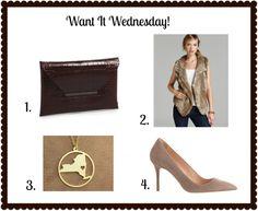 Want It Wednesday www.alittleglitter.com