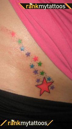 Seeing Stars Shooting Star Tattoo