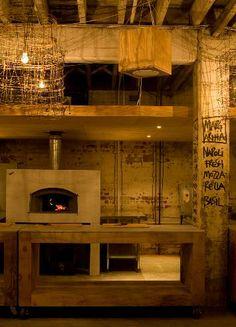 pizzeria design interior | Simon Food Favourites: Free Pizza: Hidden Pizza Restaurant opening ...