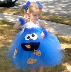 Cookie monster dress