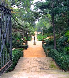 Jardins de Laribal - Parc de Montjuic, Barcelona - Catalonia.