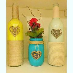 Hand Made Wine Bottle Crafts For All