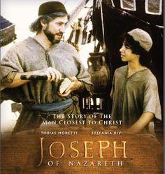 "Free Catholic Movie : ""Joseph of Nazareth"" - stars Tobias Moretti Good Christian Movies, Man Close, Catholic News, Jesus Stories, See Movie, Greatest Mysteries, Learning To Trust, Family Movies, St Joseph"