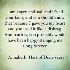 Hart of Dixie quote s4e13
