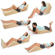 8 position bed lounger!