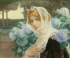 Absyntowa Wróżka: Damy jak kwiaty ze szkła - Élisabeth Sonrel (artystka tygodnia)