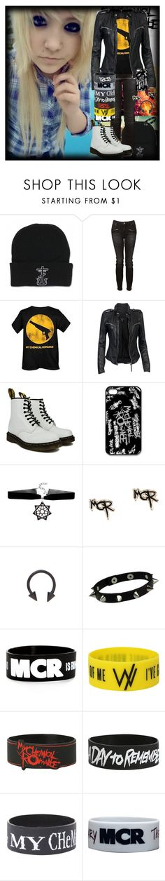 """""""Untitled #474"""" by chemicalfallout249 ❤ liked on Polyvore featuring Witchery, MuuBaa, Dr. Martens, emo and alternative"""