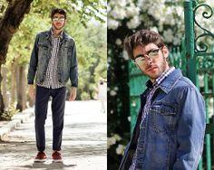 Pull & Bear Denim Jacket, H&M Pant, Nike Sports, Celop Shirt #fashion #mensfashion #menswear #mensstyle #style #outfit #ootd