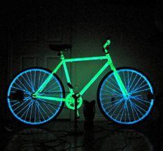 Pimp out your bike with Glow plasti dip!