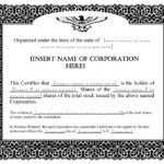 Corporate Bond Certificate Template (1) - TEMPLATES EXAMPLE | TEMPLATES EXAMPLE