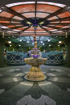 Disney Fantasy Enchanted Garden restaurant