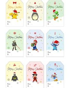 étiquettes cadeaux Diy, Comics, Table, Ideas, Gardens, Christmas Is Coming, Letter Templates, Bricolage Noel, Bricolage