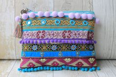 RENIQLO // Handmade Clutch Bag
