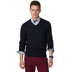 Pima Cotton Cashmere Sweater - Jumpers, from Tommy Hilfiger ...