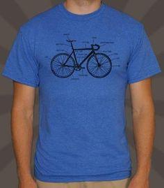 Men's Bike Anatomy T-Shirt