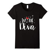 Women's Wine Diva Wine Lover Glass Cup Funny Tee Shirt Me... https://www.amazon.com/dp/B01LY2QW2O/ref=cm_sw_r_pi_dp_x_sTh-xbWYGXF6P